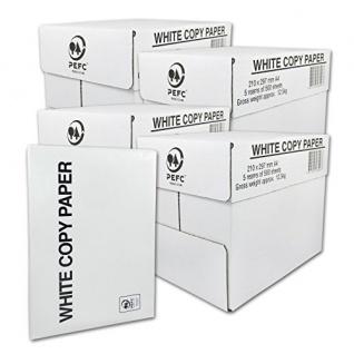 High White Kopierpapier gute Qualität DIN A4, 75g/m² 500 Blatt 20er Pack