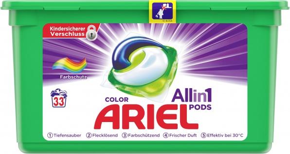 Ariel ALL-IN-1 Colorwaschmittel Pods 30Gr - 33WL