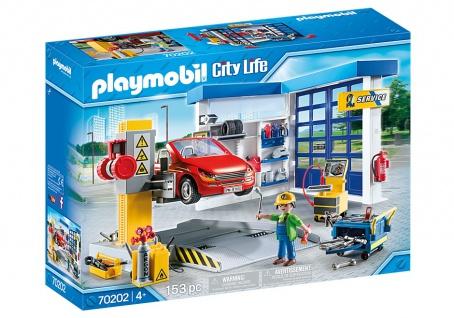 Playmobil City Life 70202 Autowerkstatt für Kinder ab 4 Jahren