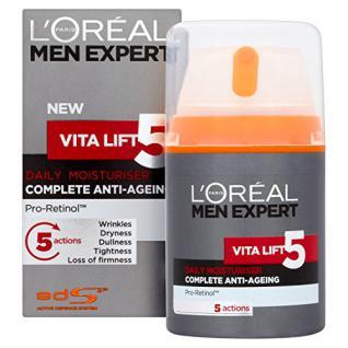 L'Oréal Men Vita Lift 5 Anti Age Total, Feuchtigkeitspflege Männer, Anti Aging Creme, 1er Pack (1 x 50 ml) - Vorschau