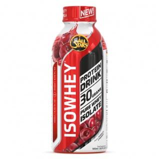 All Stars Isowhey pure Cherry Protein Fertiggetränk laktosefrei 500ml