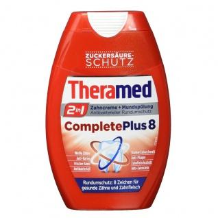 Theramed 2in1 Zahnpasta Gel und Mundspülung Complete Plus 8 75ml