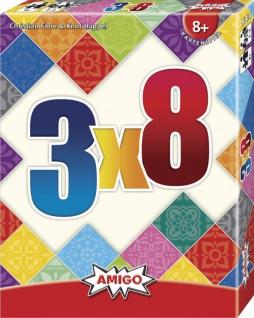 Amigo 3x8 Ein spannendes und tolles Kartenspiel für die ganze Familie
