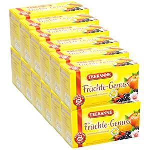 Teekanne Früchte-Genuss ein fruchtiger Genuss aus reifen Früchten 12er Pack