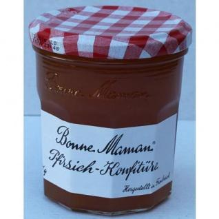 Bonne Maman Französische Konfitüre aus Pfirsichen 1 Glas 370g