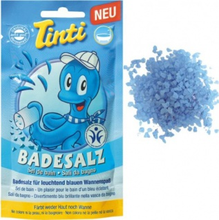 Tinti Badesalz blau