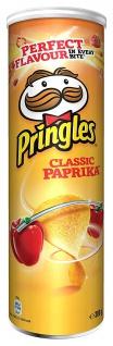 Pringles Classic Paprikageschmack Stapelchips auch für Veganer 200g