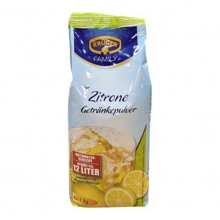 Krüger Zitrone Instant Getränkepulver Erfrischungsgetränk 6x 1000g