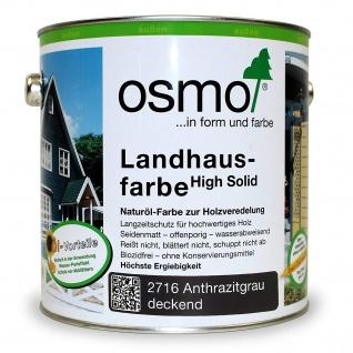 Landhausfarbe anthrazit 2500ml