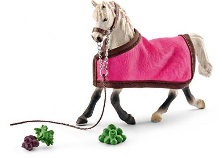 Schleich 41447 - Spielzeugfigur - Araber Stute mit Decke