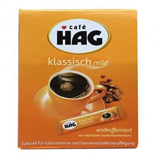 Kaffee Hag Tassenportionen (25x1, 8g Packung)