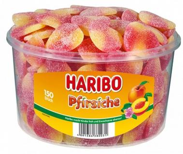 Haribo Pfirsiche gezuckete Fruchtgummi mit Pfirsichgeschmack 1350g