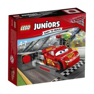Lego Disney 10730 Lightning McQueens große Beschleunigungsrampe