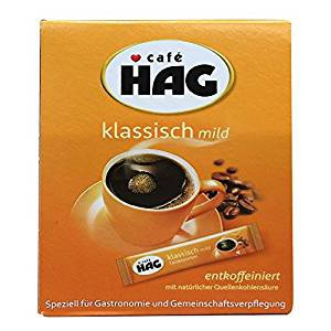 Kaffee Hag Tassenportionen