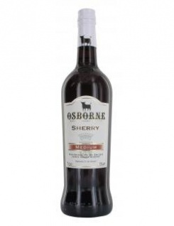 Osborne Sherry medium 15 % 0, 75 l