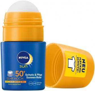 Nivea Sun Kids Schutz Sonnenroller LSF 50 Wasserfest 50ml 2er Pack