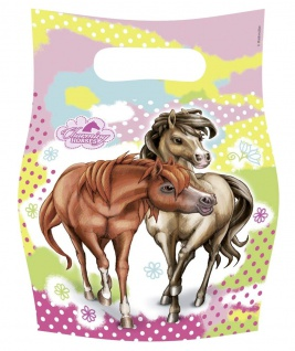 6 Partytueten Charming Horses 2