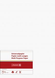Universalpapier Druckerpapier Farbe weiß Inhalt 50 Blatt 80g