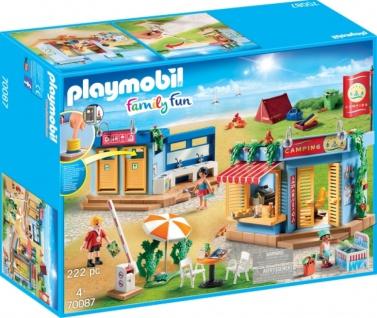 Playmobil Family Fun Großer Campingplatz Konstruktionsspiel 70087
