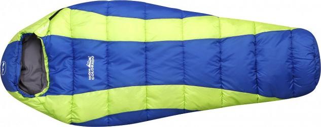 CONDOR Kindermumienschlafsack für alle Jahreszeiten Verschluss rechts