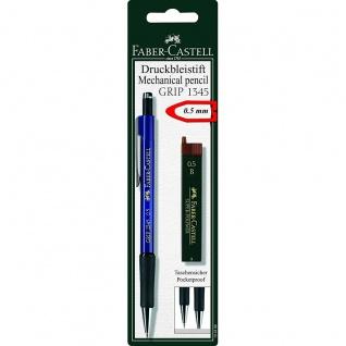 Faber Castell Mechanical Pencil Druckbleistift Grip mit 12 Feinminen