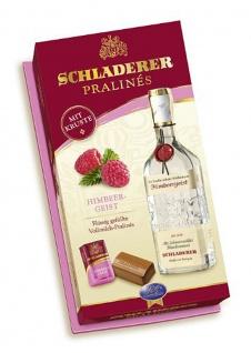 Schladerer Pralines Himbeergeist mit Vollmilchschokolade 127g 2er Pack