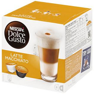 Nescafé Dolce Gusto Latte Macchiato Kaffee Kapseln 1er Pack, 194g