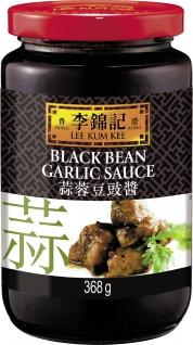 Schwarze Bohnen Knoblauch Sauce Asiatische Küche Inhalt 368g
