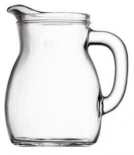 Bormioli Rocco Bistrot Italienische Karaffe Glas Transparent 1000ml