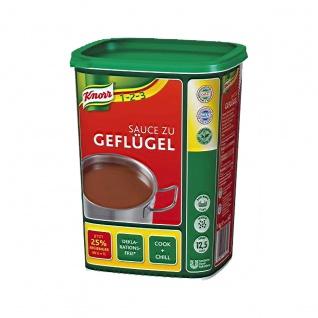 Knorr Delikatess Sauce zu Geflügel Großpackung für Gastro 1000g