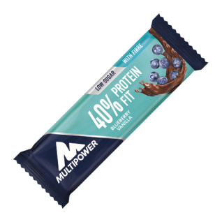 40% Protein Fit Bar Fitness Snack Riegel Blueberry Vanilla 35g
