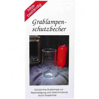 Best Innovations Grablampenschutzbecher für Kerzen hitzebeständig G7