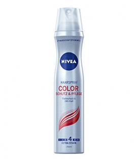 Nivea Haarspray Color, Schutz und Pflege, Farbschutz und 24 Stunde Halt, 4er Pack (4 x 250 ml)