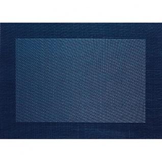 PVC-Tischset 33x46 cm dunkelblau