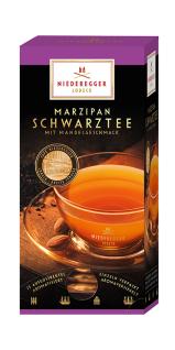 Niederegger Marzipan Aromatisierter Schwarz Tee 25 Doppelkammerbeutel