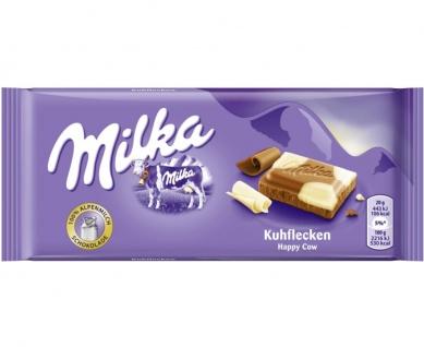 Mondelez Milka Alpenmilch Schokolade mit weißen Kuhflecken 100g