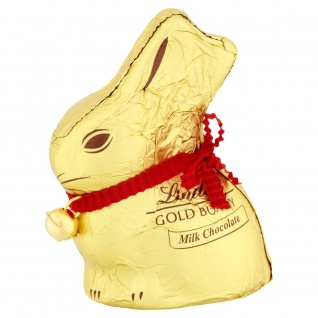 Lindt Goldhase Hohlfigur aus Alpenvollmilch Schokolade Ostern 50g