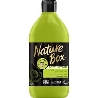 NATURE BOX Body Lotion Avocado 385 ml