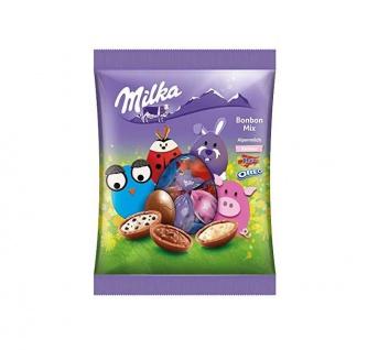 Milka Bonbons Mischung Ostern Alpenmilch Mandelkaramellstückchen 132g