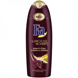 Fa Duschcreme Glamorous Moments Duft schwarzer Orchidee 250ml 6er Pack