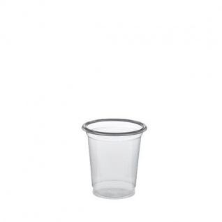 Schnapsglas Papstar Plastik 2cl glasklar mit Füllstrich 40 Stück