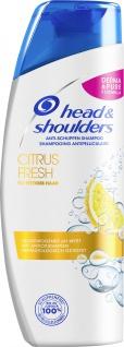head and shoulders Anti Schuppen Shampoo Citrus Fresh Duft 300ml