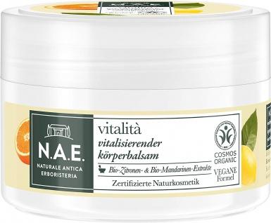 N.A.E. Vitalità Vitalisierender Körperbalsam Naturkosmetik 200ml