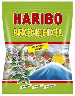 Haribo Bronchiol Minze 100 g