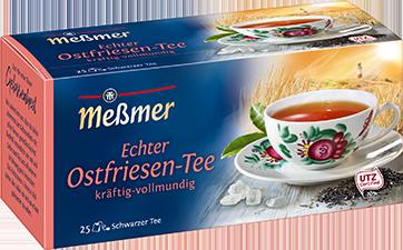 Meßmer echter Ostfriesen Tee kräftig und vollmundig 25 Teebeutel