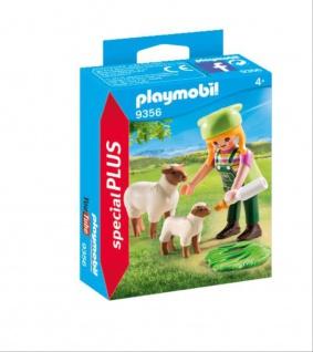 Playmobil Bäuerin mit Schäfchen Spielfiguren Special Plus 9356