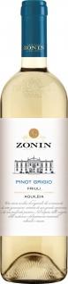 Zonin Classici Pinot Grigio Doc trocken aus Italien 750ml 6er Pack