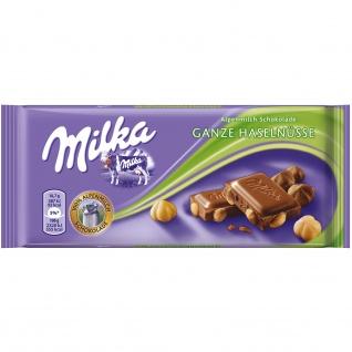 Milka ganze Haselnuss