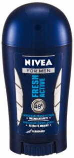 Nivea Deodorant Stick Fresh Active für Männer 40 ml, 3er Pack