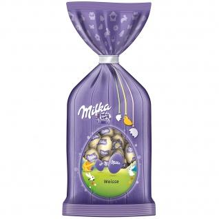 Milka Oster Eier Weisse Mini Ostereier aus weißer Schokolade 100g